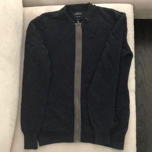 All Saints blue sweater